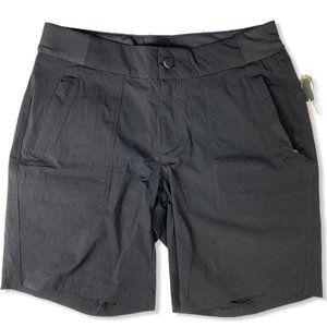NWOT ACTIVE LIFE Black Stretch Waistband Shorts